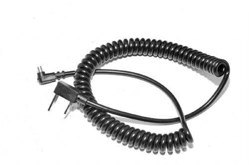 AC-PC Coiled Flash Sync Lead Heavy Duty 3 Meters